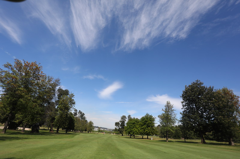STELLENBOSCH, SOUTH AFRICA - OCTOBER 2: Hole 14 during the held at Stellenbosch Golf Club on October 2, 2018 in Stellenbosch, South Africa. EDITOR'S NOTE: For free editorial use. Not available for sale. No commercial usage. (Photo by Carl Fourie/Sunshine Tour)