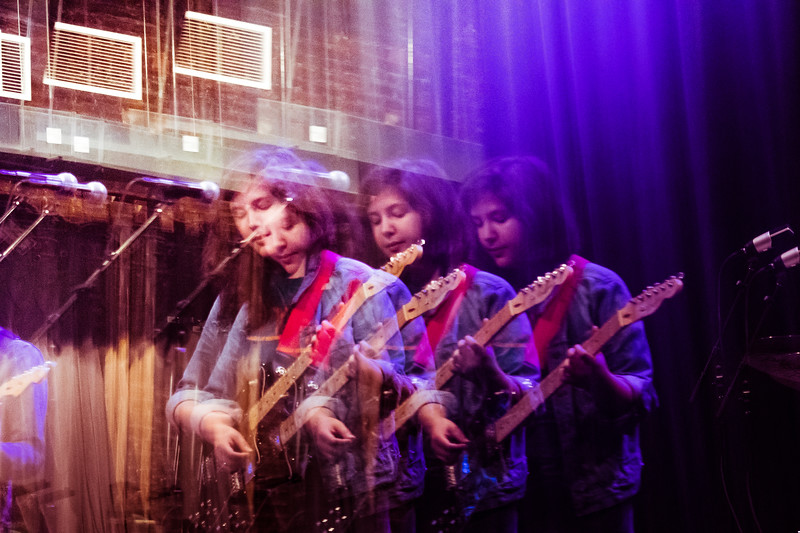 Lucy Dacus, soundcheck, The Jefferson Theater