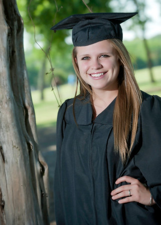 Mallory Cap & Gown 2013