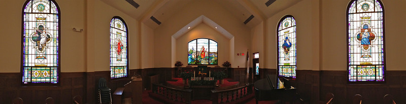 CFUMC Panorama Pictures Interior and Exterior.