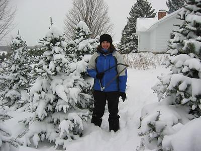 20031206 Christmas Tree Chopping