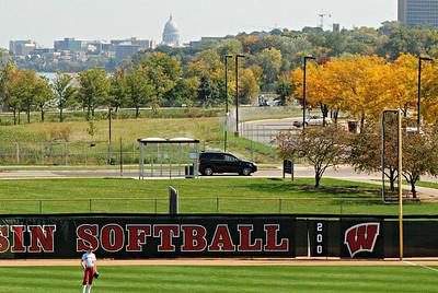 2014 09 28: Wisconsin Women's Softball vs Kirkwood CC