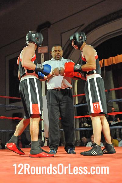 Bout 7 Ryan Arce, Evolve MMA, Akron -vs- Anthony Cannella, Old Angle BC-Tony Vega, Lakewood, 141 lbs Novice