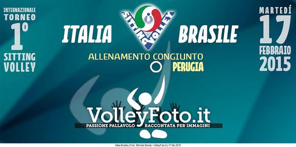 Allenamento Italia-Brasile