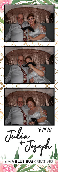 Congrats to Julia & Joseph! Looking for an awesome photo booth for your next event? Check out bluebuscreatives.com for more info!