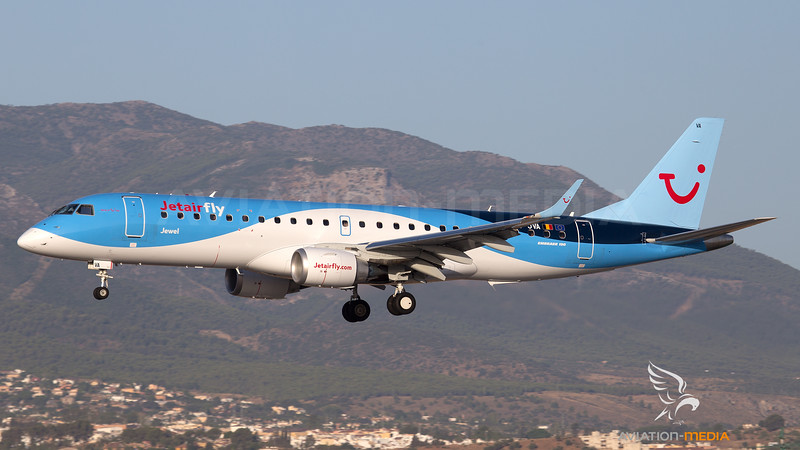 Jetairfly / Embraer E190STD / OO-JVA