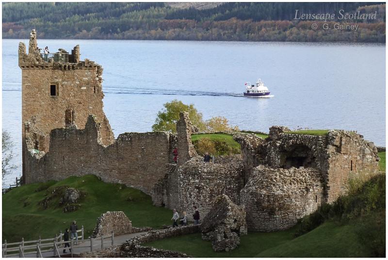 Urquhart Castle, Drumnadrochit, Loch Ness (2)