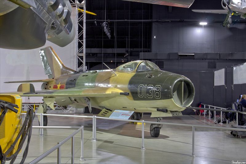 National Museum of the United States Air Force, Dayton, Ohio,   04/13/2019  Mikoyan-Gurevich MiG-19S [Farmer]   c/n 0915372  0138  ex Egyptian Air Force  This work is licensed under a Creative Commons Attribution- NonCommercial 4.0 International License.