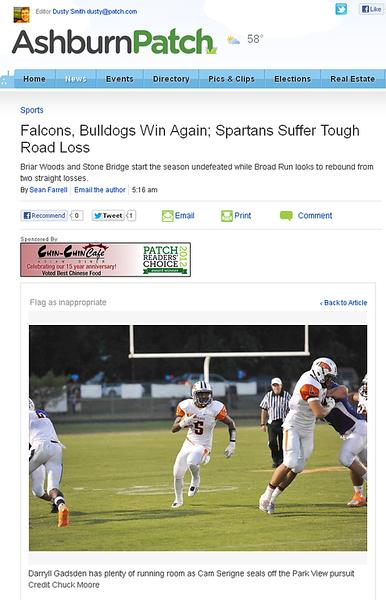 2012-09-09 -- Falcons, Bulldogs Win Again; Spartans Suffer Tough Road Loss (3).png