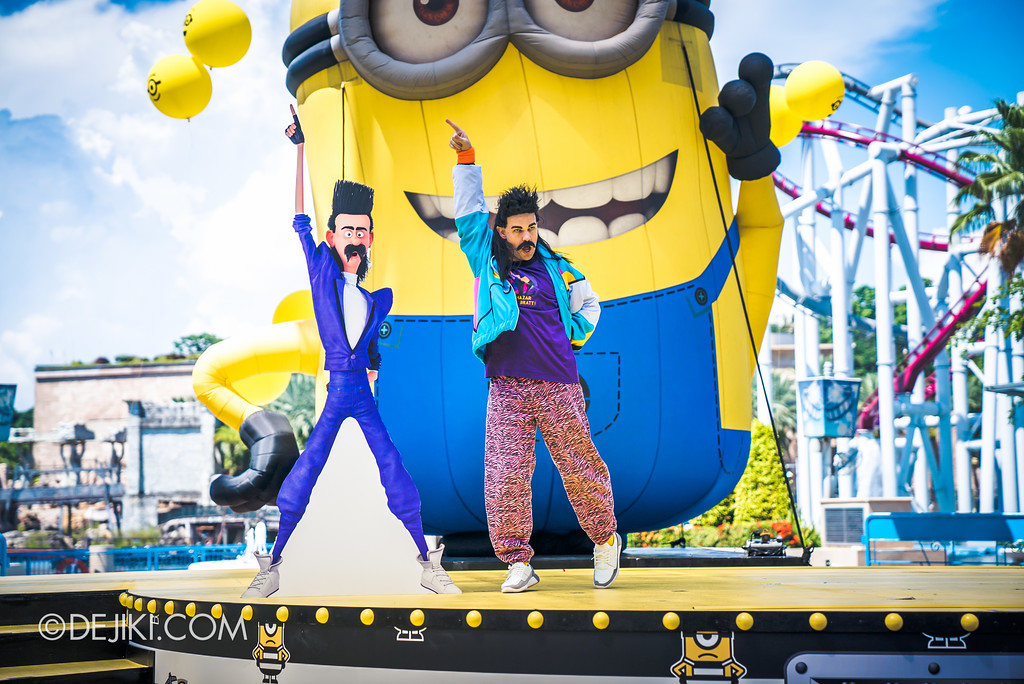 Despicable Me Breakout Party at Universal Studios Singapore / Rodney Rotten, Fanboy since 1980s