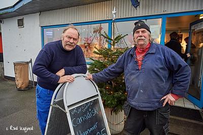 Sletten:  Aksel og Peter Møller