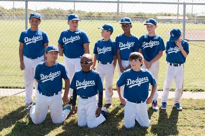 2016-10-29 10U Dodgers Team Picture
