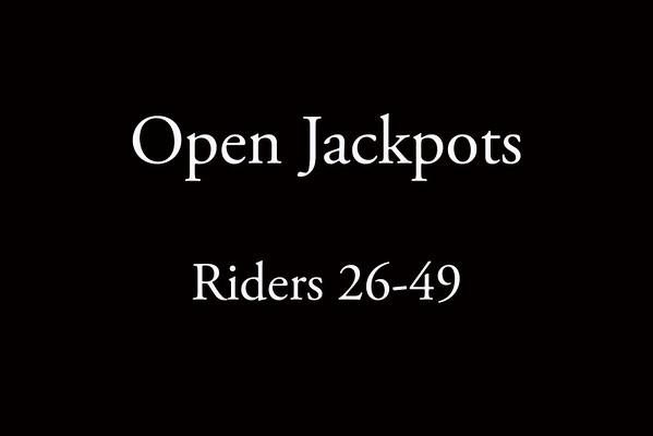 Open Jackpots Riders 26-49