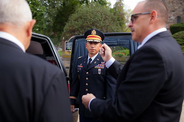 Vincent E. Dueñas Funeral