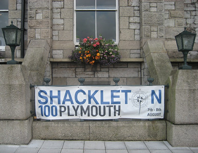 Shackleton 100, Plymouth, August 2014.