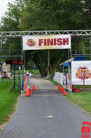 2015 Oak Brook Half Marathon - Finish Line