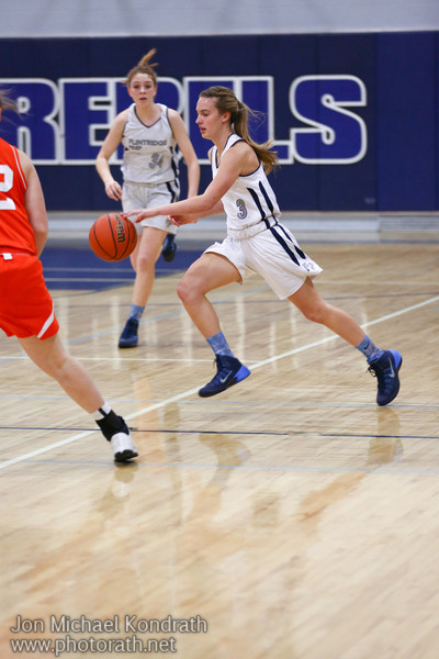 Girls V-Basketball vs Poly 1/10/14