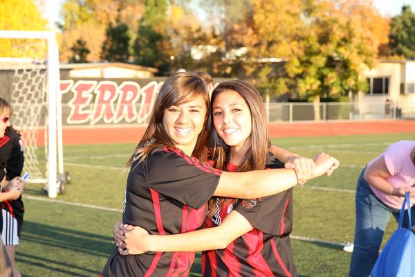 Girls soccer 12-10-2010