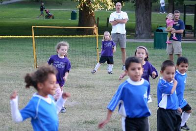 2010 Oct 5 - Sophia playing soccer