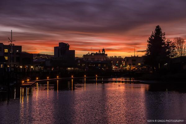 Petaluma Sunsets