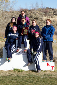 EHS Cross Country Districts 2013