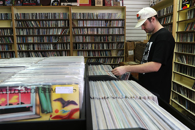 Vinyl comes back around: Area record shops experience a boom