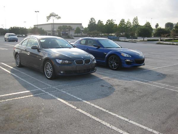 Evo, Rx-8, BMW