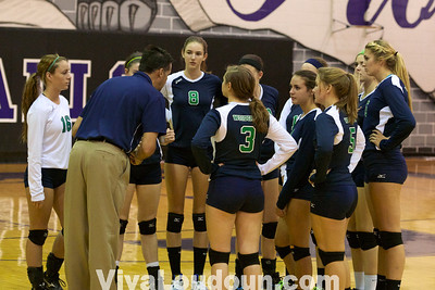 Volleyball: Woodgrove at Potomac Falls - Varsity (by Jeff Scudder)