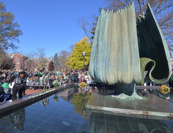 11.14.15 Fall Memorial Fountain Ceremony