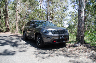 Our Jeep Grand Cherokee Trailhawk