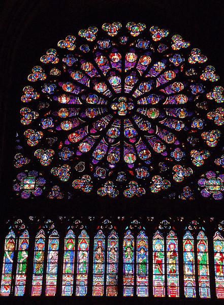 South Rose Window--Notre Dame (Paris, France)