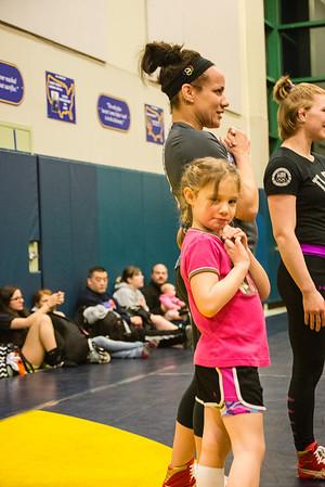 Girls Wrestling clinic