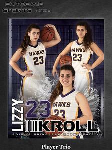 Rhinebeck Girls Varsity Basketball 2015-16