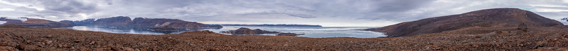 360 View Of Alexandra fjord