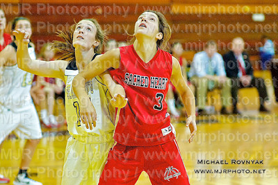 St Anthonys Vs Sacred Heart, Girls Varsity Basketball 01.09.11