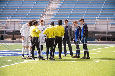 Grace Community School Boys' Soccer vs St.Michael's Catholic Academy by Melanie Johnson