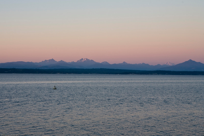 View from Langley, Whidbey Island WA