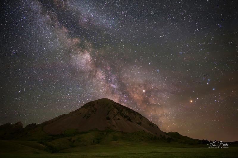 Bear Butte Milky Way.
