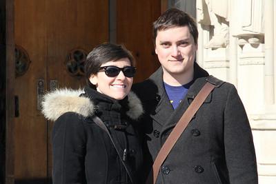 John & Molly visit Durham 1/ 2014