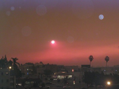 San Diego Wildfires 2003
