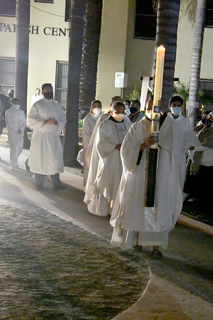 04-03-2021 Easter Vigil mass Group 3