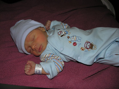 Mark's Birth March 1, 2008