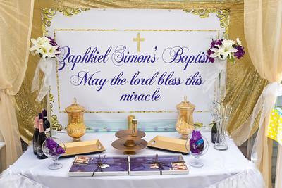 Zaphkiel Baptism