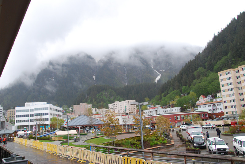 Wednesday, May 23, arrive at Alaska's capital city of Juneau.