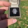 1.82ctw Diamond Cluster Ring 25