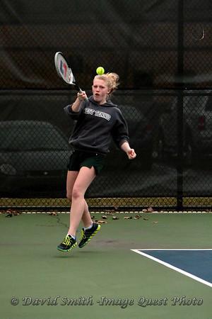 Girls Varsity Tennis Zeeland West vs Holland Christian