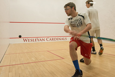 Wesleyan Squash Vs Haverford
