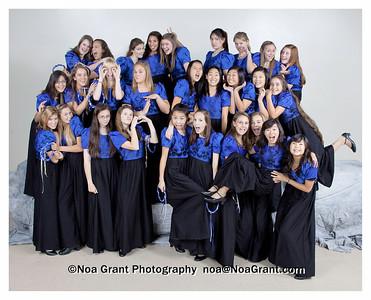 Choir Group Photos 2009-2010
