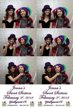 Jenna's Sweet Sixteen