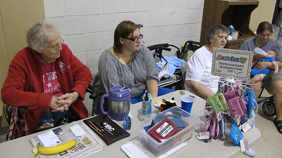 Indoor Yard Sale, Salvation Army, Tamaqua (7-20-2013)